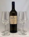 Set of 6 glasses for white wines of series Harmony Nr. 35 from Rastal plus 1 bottle organic wine for free 